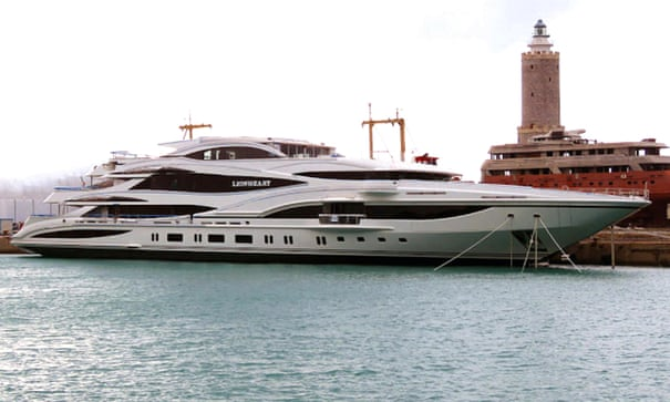 Superyachts and bragging rights: why the super-rich love their