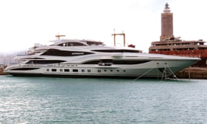 Sir Philip Green's new yacht Lionheart