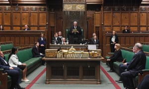 The Speaker, Lindsay Hoyle, addressing the House of Commons