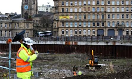 Development work at Westfield site in Bradford