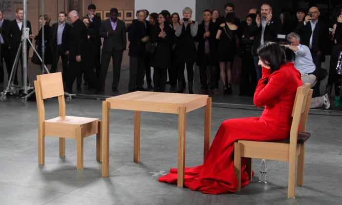 Image result for MARINA ABRAMOVIĆ: THE ARTIST IS PRESENT