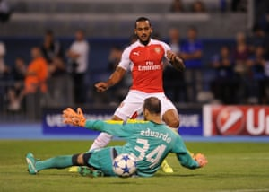 Theo Walcott pulls one back for Arsenal. Will it be the start of a comeback or just a consolation goal?