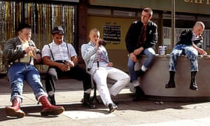 Skinheads in docs in This Is England, 2007.