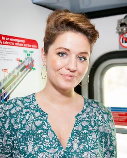 Sarah Govier, commutes Brighton to London.