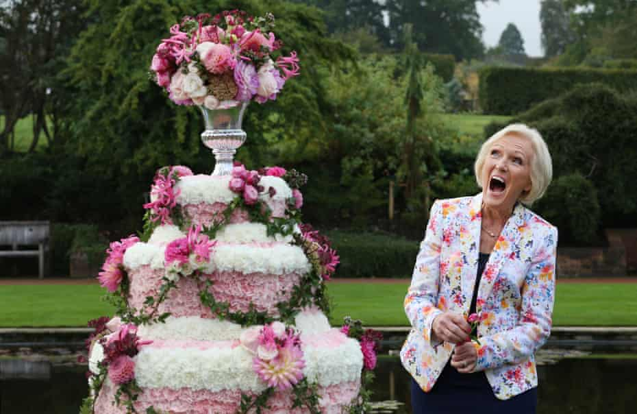 Mary Berry, formerly of the Great British Bake Off.