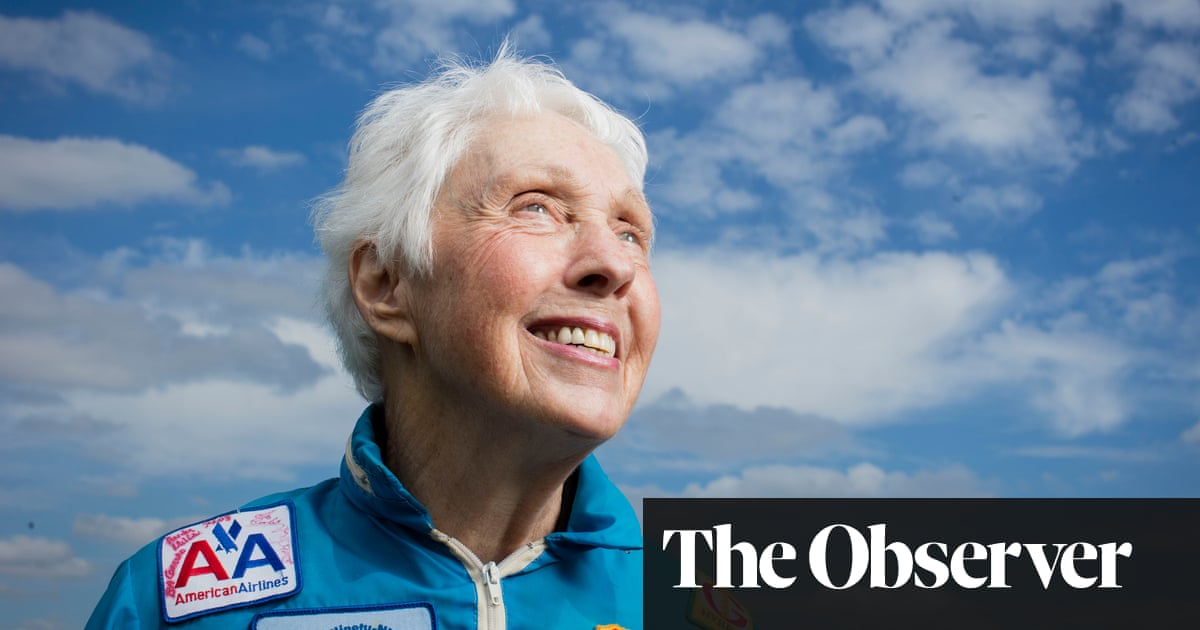 This space race has its downside� Rocketwoman Wally Funk joins crew for Jeff Bezos�s ego trip