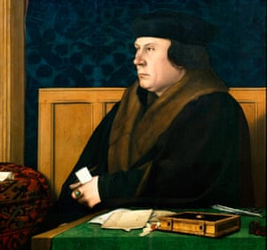 Thomas Cromwell portrait by Hans Holbein the Younger.