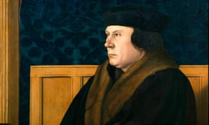 Detail of the portrait of Thomas Cromwell by Hans Holbein the Younger, Frick collection.