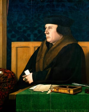 Portrait of Thomas Cromwell by Hans Holbein the Younger (1497-1543).