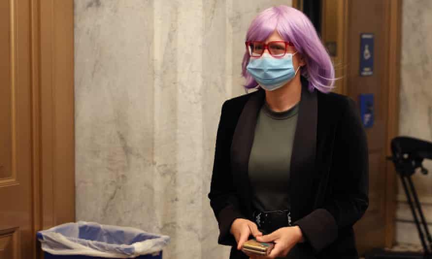 Kyrsten Sinema at the US Capitol in May 2020.