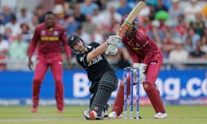 Kane Williamson made an ODI career-best of 148 in New Zealand's World Cup game against the West Indies.