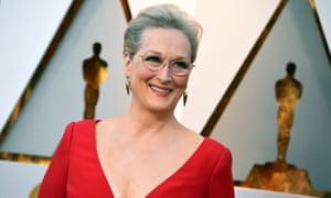 Meryl Streep in March 2018.