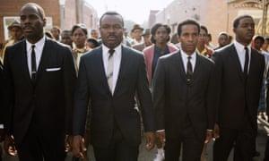 David Oyelowo as Martin Luther King in Selma.
