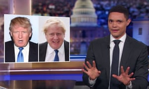 """Noah: """"The UK is on the verge of electing a prime minister who looks exactly like Donald Trump."""""""