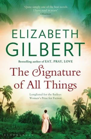 The Signature of All Things cover by Elizabeth Gilbert
