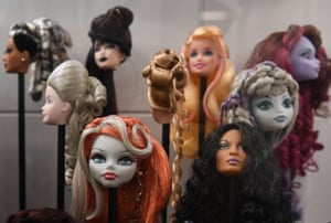 More Barbie heads