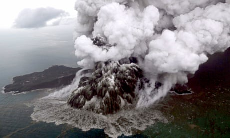 Indonesia tsunami caused by collapse of volcano