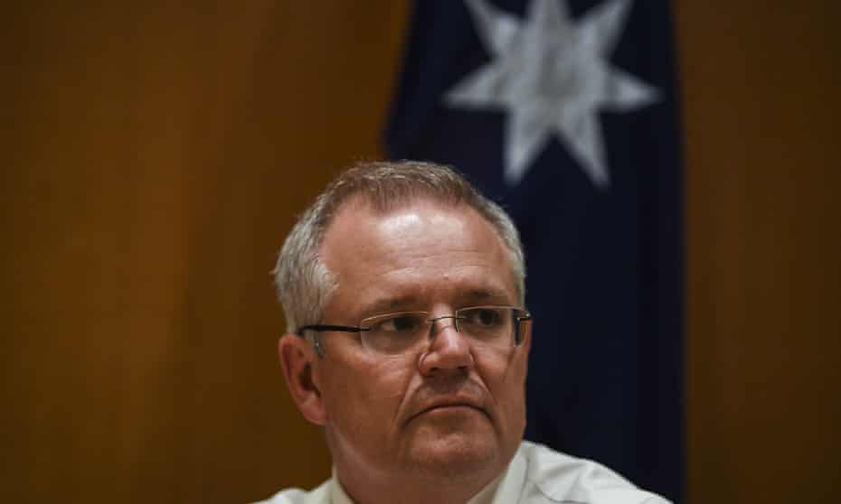Scott Morrison: 'We're a great country, people are going to get back to where they have to have their heads.'