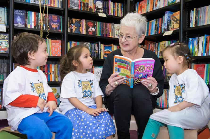 'No matter how much a child might say they hate reading, there'll be a book somewhere which they'll love': Dame Jacqueline Wilson.