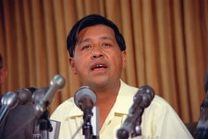 The Delano, California grape strike and boycott was at its height when Time Magazine featured labor leader Cesar Chavez on the cover of its July 4th, 1968 issue. The five-year grassroots campaign against farm worker exploitation culminated in victory when table grape growers signed contracts with the United Farm Workers in 1970. Pictured: Cesar Chavez speaks during a news conference on May 24, 1968.