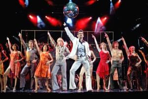 Stephane Anelli (Tony Manero) in Saturday Night Fever, Apollo Victoria, London, 2004