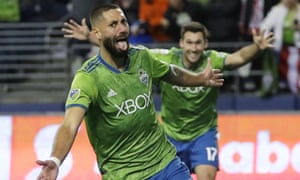 Clint Dempsey returned to the States to help the Seattle Sounders to MLS Cup