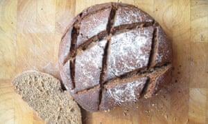 Paul Hollywood's rye bread.