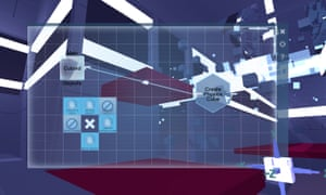Glitchspace – a different take on the first-person shooter, channeling Portal's approach to puzzle-based interactions over shooting