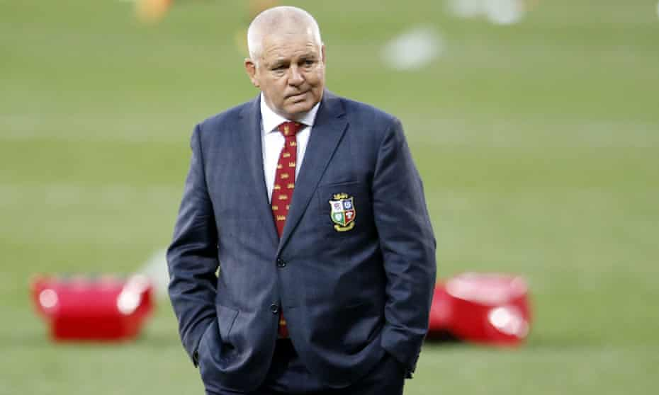 The British & Irish Lions head coach, Warren Gatland, promised there was an 'awful lot more in us' after their win against South Africa.