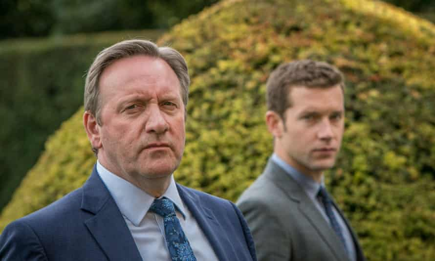 Neil Dudgeon as DCI Barnaby and Nick Hendrix as DS Winter.