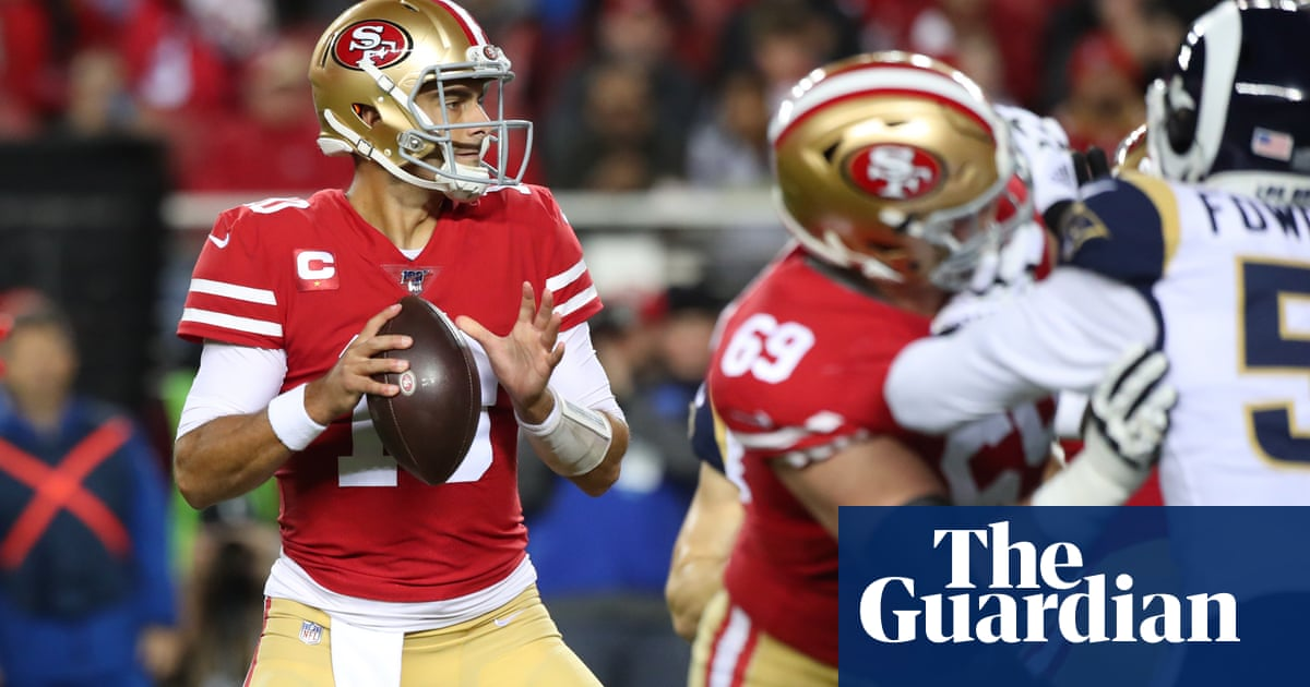 Niners edge Rams on final play after Patriots and Texans clinch division titles