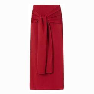 The skirt A longline midi in a bold colour; £345, joseph-fashion.com.