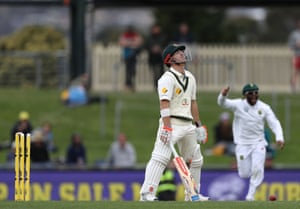 The technical failings of Australia's batsmen were laid bare in a disastrous Hobart Test loss to South Africa.