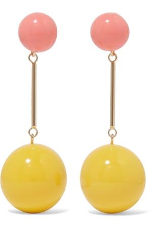 Earrings, £295, JW Anderson