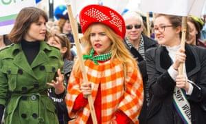 laura pankhurst marching