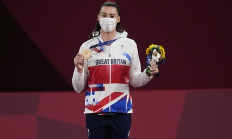 Frustrated Bianca Walkden forced to settle for taekwondo bronze