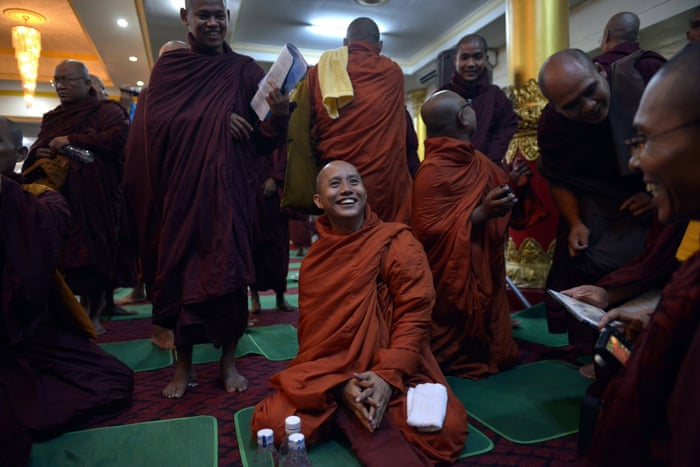 It only takes one terrorist': the Buddhist monk who reviles