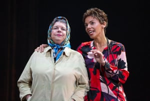 Elaine C Smith and Sasha Frost perform in Red Dust Road is adapted from the soul-searching memoir by Jackie Kay.