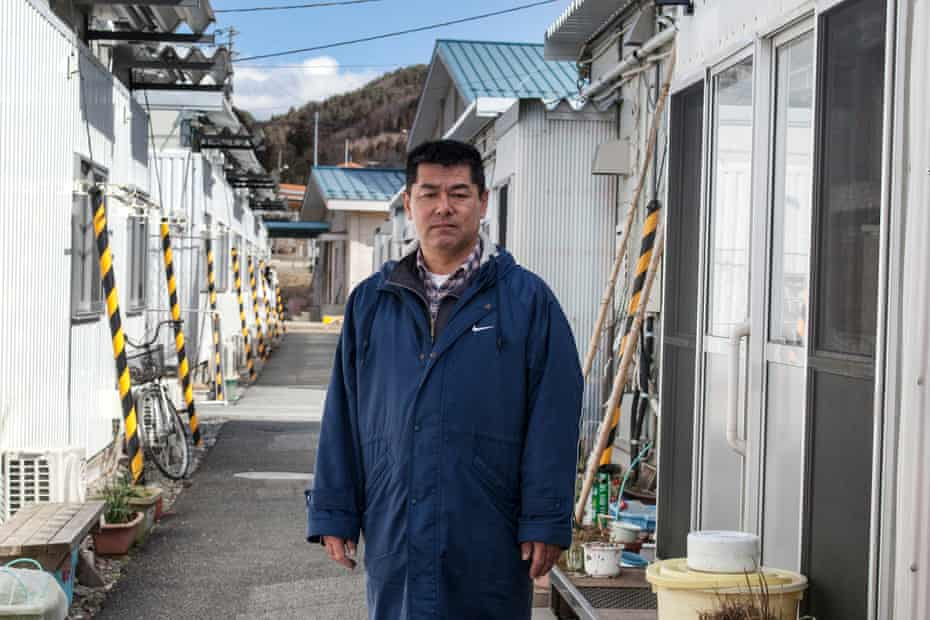 Kazuo Sato, a fisherman before the tsunami, became president of a residents' association and volunteer fireman.