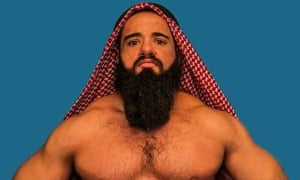 Waseem Azem, AKA Waseem Azem, has spent his life dreaming of representing the Arab and Muslim world in US wrestling.