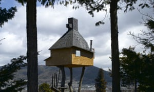 High tea … Fujimori's tree teahouse in Nagano.