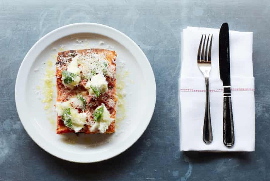 Big Jo's tomato mozzarella and basil pizza.