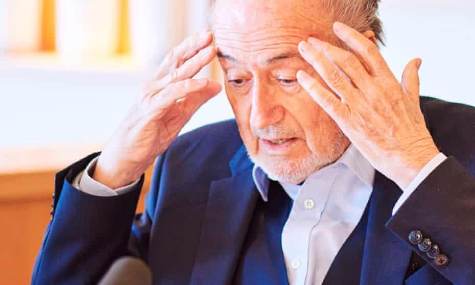 'I am still the boss here' ... Sepp Blatter.