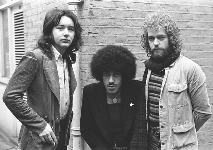 The three-piece Thin Lizzy in 1973