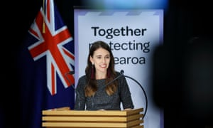 File photo - Prime Minister Jacinda Ardern speaks to media during a press conference at Parliament on April 06, 2021 in Wellington, New Zealand.