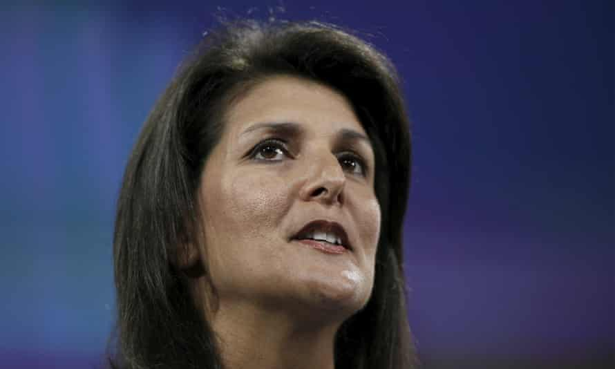 South Carolina governor Nikki Haley: 'While Democrats in Washington bear much responsibility for the problems facing America today, they do not bear it alone.'