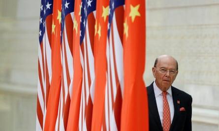 US commerce secretary Wilbur Ross.