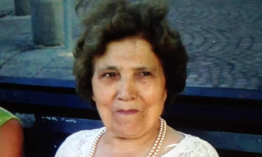 File photo of Palmira Silva, who was attacked and beheaded by Nicholas Salvador at her home in Edmonton, north London, last September.