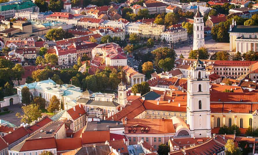 Vilnius is hoping to attract support functions in banking.