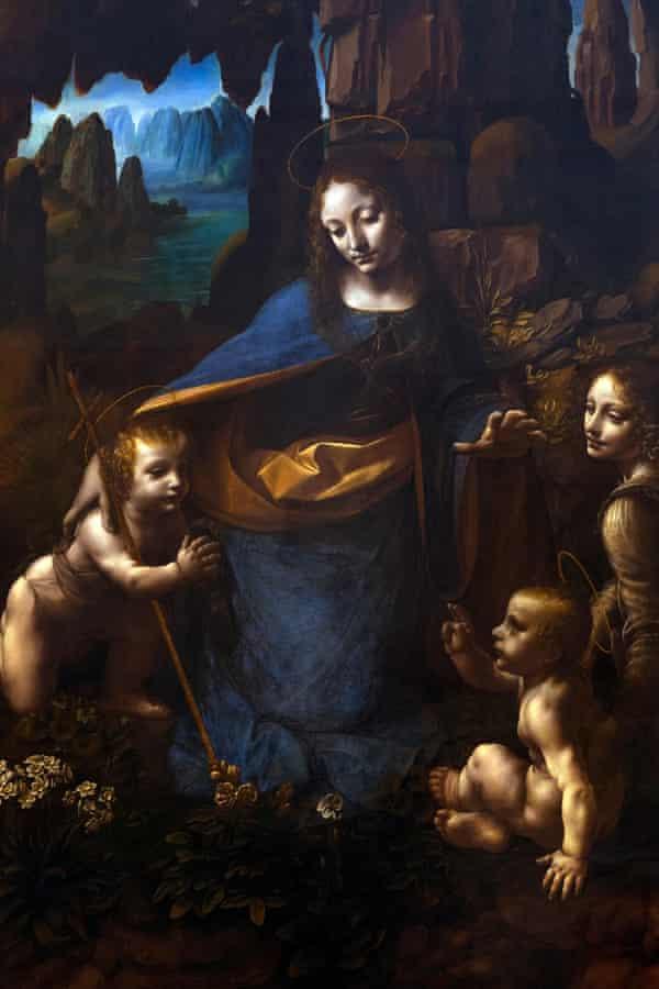 Leonardo's Virgin of the Rocks